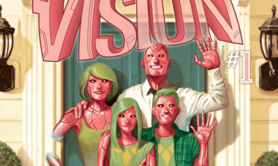 Marvel Vision #1 Cover